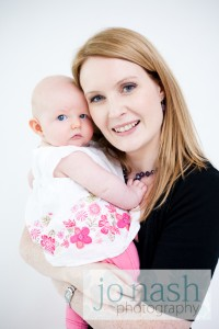 Sarah Sangster & Baby Lucy