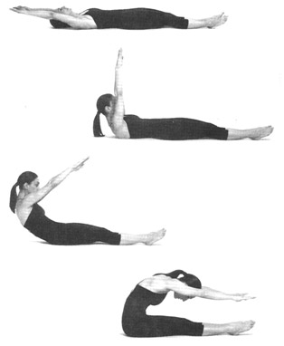 The roll up is one of the most effective Pilates moves and keeping the flow 'slow' helps you gain stability and strength in your core. More about quality and less about quantity!