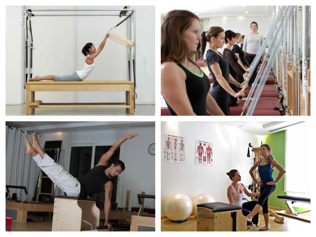 Pilates Cadillac, Reformer and Chair at The Hundred Pilates Studio in Dubai | www.thehundred.ae