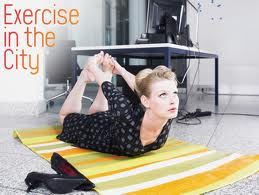 Pilates Exercises In the City, bought to you by The Hundred Pilates Studio in Dubai.